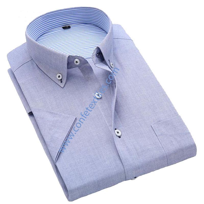 Camisa Fila fil color celeste italiano