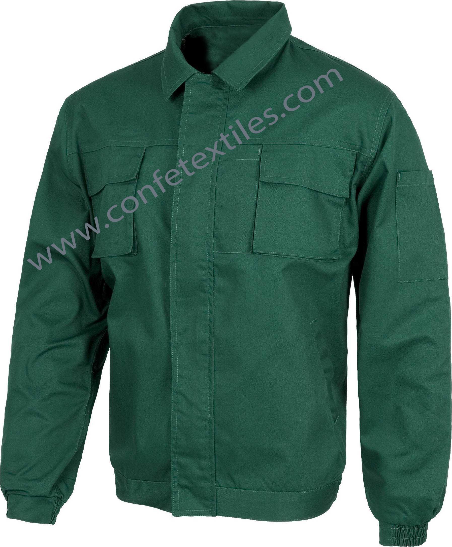 camisa de trabajo drill verde jade